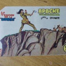 Tebeos: APACHE 2ª Nº 70 ORIGINAL. Lote 51130343