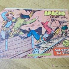 Tebeos: APACHE 2ª Nº 66 ORIGINAL. Lote 51130352