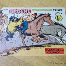 Tebeos: APACHE 2ª Nº 62 ORIGINAL. Lote 51130373