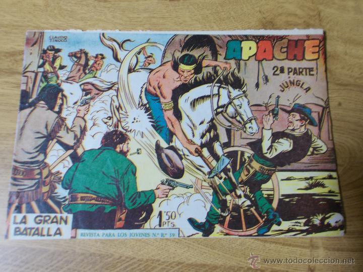 APACHE 2ª Nº 8 ORIGINAL (Tebeos y Comics - Maga - Apache)