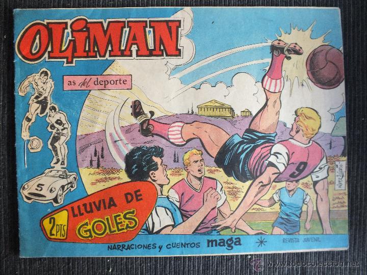 OLIMAN Nº 69 EDITORIAL MAGA (Tebeos y Comics - Maga - Oliman)