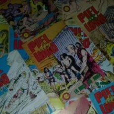 Tebeos: LOTE 18 COMICS PIEL DE LOBO. EDITORIAL VALENCIANA 1979. MUY BUEN ESTADO .. Lote 51344444