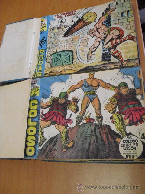 EL COLOSO, PRINCIPE DE RODAS 1960,COMPLETA 83 TEBEOS, EN CUADERNADA EN DOS TOMOS, (Tebeos y Comics - Maga - Otros)