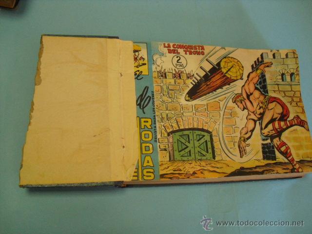 Tebeos: el coloso, principe de rodas 1960,completa 83 tebeos, en cuadernada en dos tomos, - Foto 2 - 51399215