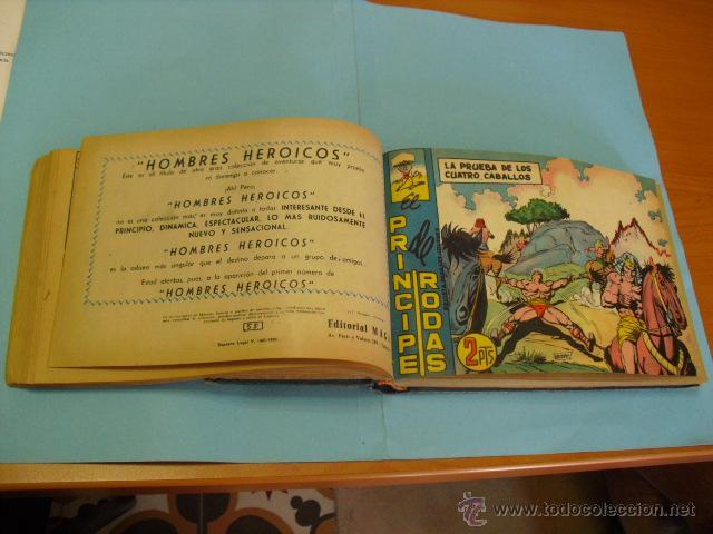 Tebeos: el coloso, principe de rodas 1960,completa 83 tebeos, en cuadernada en dos tomos, - Foto 3 - 51399215