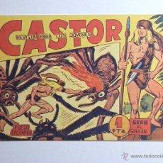 Giornalini: CASTOR-FUEGO SALVADOR-SERIE EL GAVILAN-EDITORIAL MAGA-1962. Lote 51437610