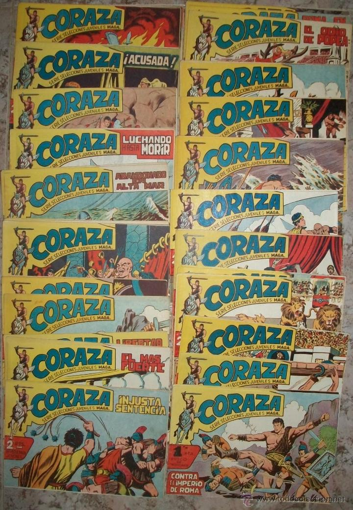 CORAZA (MAGA) 64 EJ. (COMPLETA) (ORIGINAL) (Tebeos y Comics - Maga - Otros)