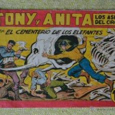 Tebeos: TONY Y ANITA Nº 145 ** MAGA ** 1,50 PTAS ORIGINAL DE EPOCA. Lote 51626535