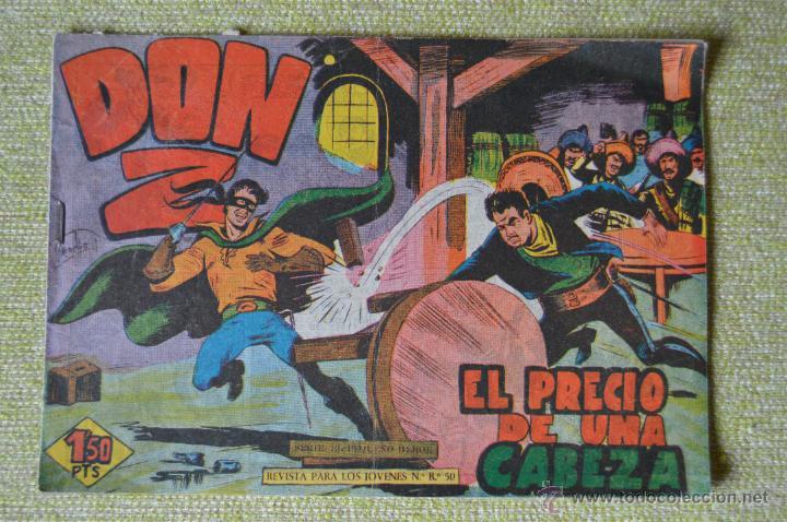 DON Z Nº 16 ** MAGA ** ORIGINAL DE LA EPOCA (Tebeos y Comics - Maga - Don Z)