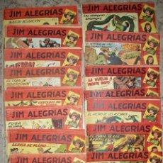 Tebeos: JIM ALEGRIAS (MAGA) COMPLETA 69 NUMEROS (ORIGINAL). Lote 51706339