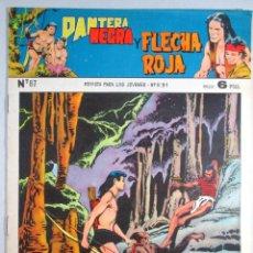 Tebeos: PANTERA NEGRA Y FLECHA ROJA , Nº 87 , MAGA . Lote 52016207