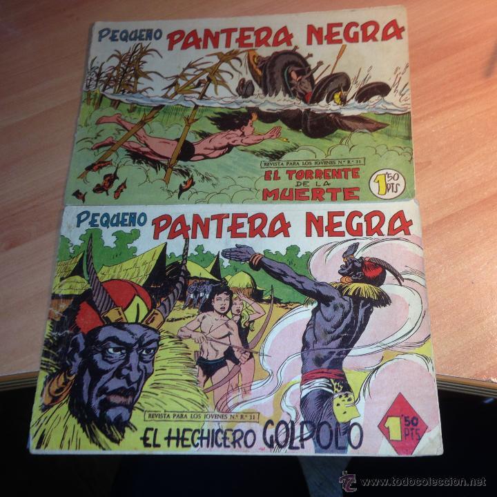 PEQUEÑO PANTERA NEGRA Nº 143 Y 144 (ORIGINAL ED. MAGA) (CLA20) (Tebeos y Comics - Maga - Pantera Negra)