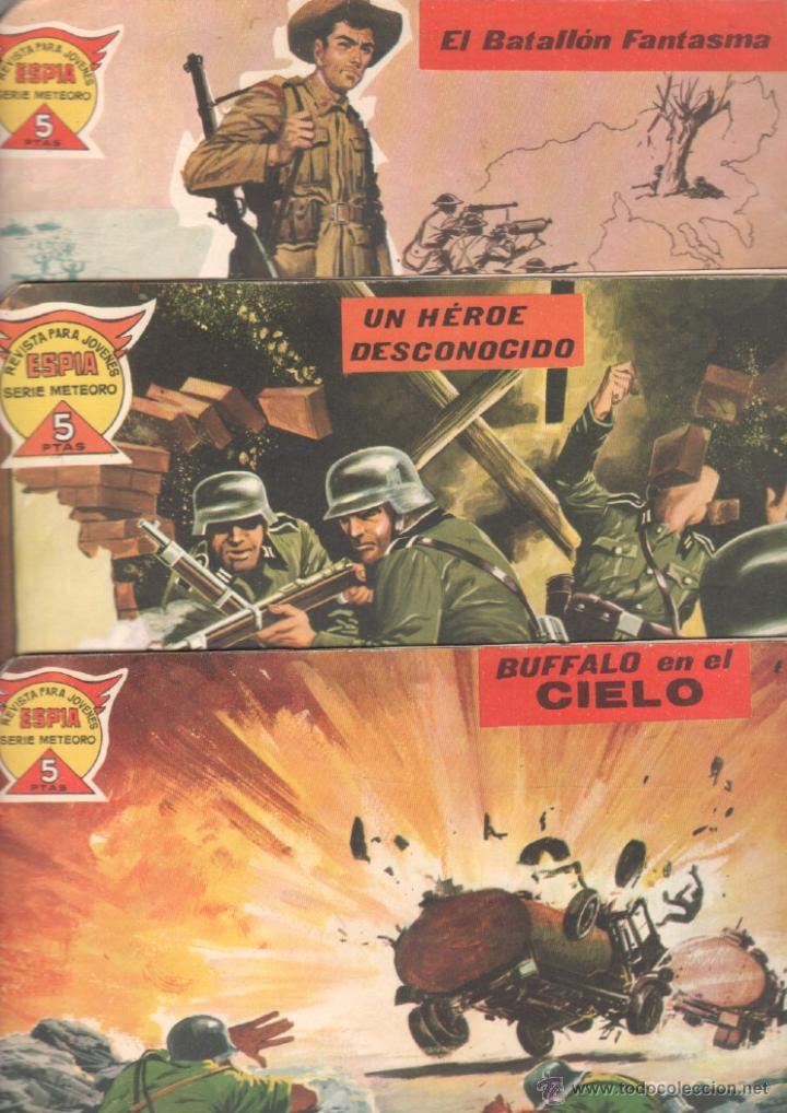 ESPIA MAGA 1962 ORIGINALES 22 NºS - 5,11,21,24,26,28.34,38,41,43,45,46,49,51,55,57,60,61,63,64,66,71 (Tebeos y Comics - Maga - Otros)