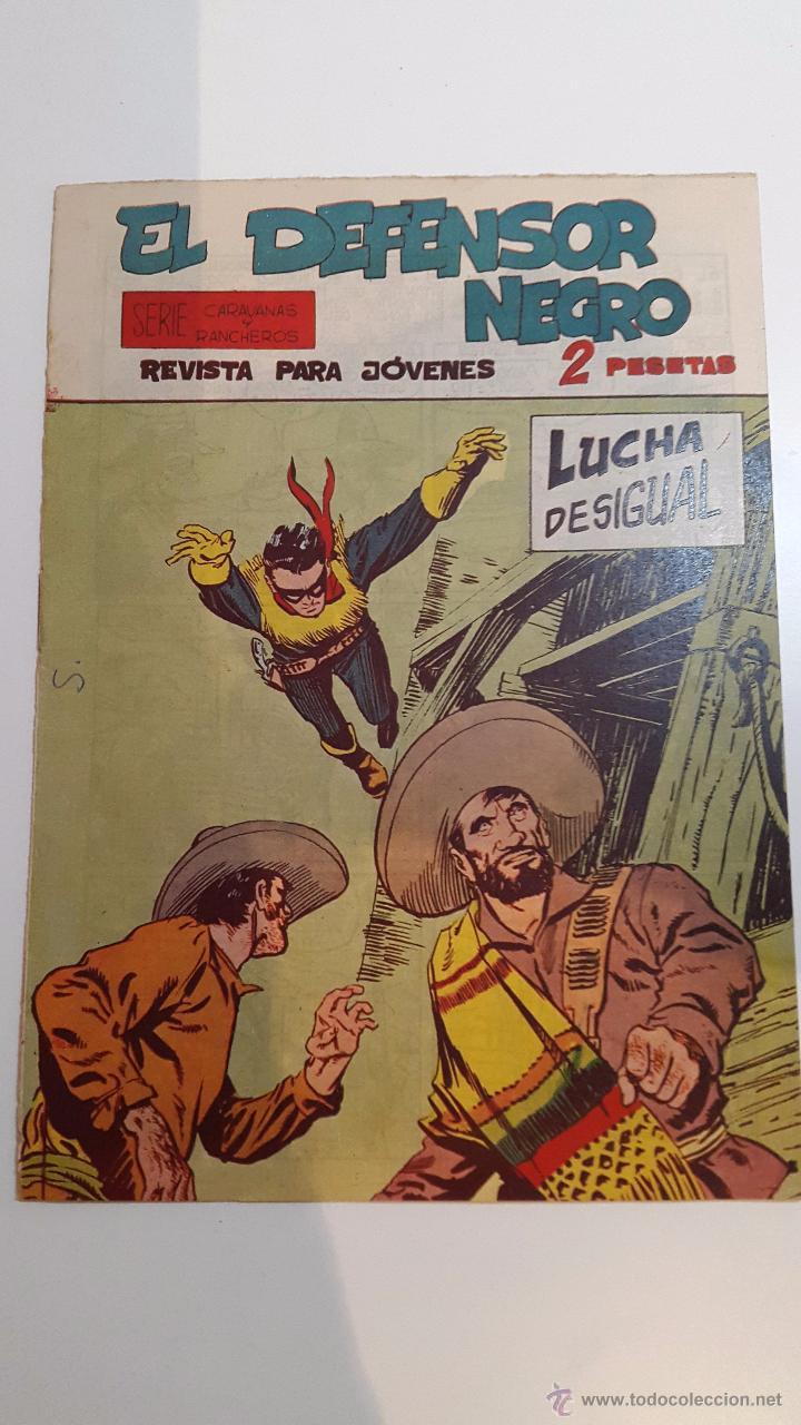 EL DEFENSOR NEGRO NÚM. 20 - LUCHA DESIGUAL (Tebeos y Comics - Maga - Otros)