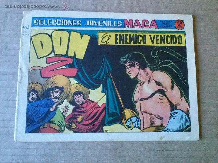 DON Z- Nº 7 - MAGA -ULTIMO DE LA COLECCION - T (Tebeos y Comics - Maga - Don Z)