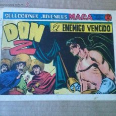 Tebeos: DON Z- Nº 7 - MAGA -ULTIMO DE LA COLECCION -. Lote 52398291