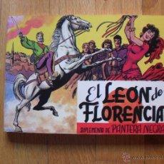 Tebeos: EL LEON DE FLORENCIA, SUPLEMENTO DE PANTERA NEGRA,, EDITORIAL MAGA. Lote 52405835