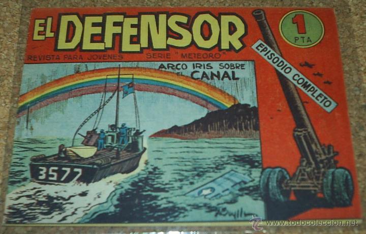 EL DEFENSOR - Nº 20- ORIGINAL DE MAGA 1962 (Tebeos y Comics - Maga - Otros)