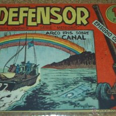 Tebeos: EL DEFENSOR - Nº 20- ORIGINAL DE MAGA 1962. Lote 52426775