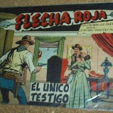 Tebeos: FLECHA ROJA Nº 53 - MAGA 1962-- ORIGINAL. Lote 52461421