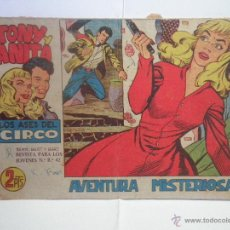Tebeos: TONY Y ANITA AVENTURA MISTERIOSA Nº 42 - 1960. Lote 52862947