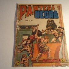 Tebeos: PANTERA NEGRA. Nº 27. MAGA. (M-8). Lote 52888202