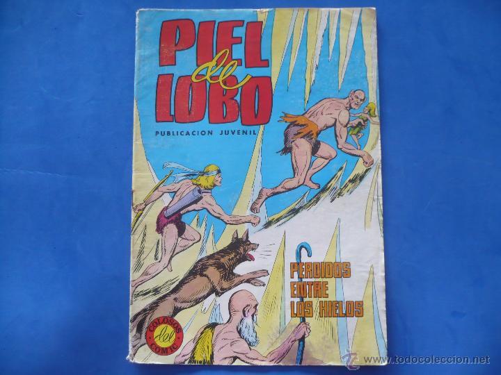 CÓMIC - PIEL DE LOBO - PERDIDOS ENTRE LOS HIELOS (Tebeos y Comics - Maga - Piel de Lobo)