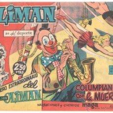 Tebeos: NUMERO ESTRAORDINARIO, EXTRA DEL CLUB OLIMAN Nº 20, EDI.MAGA 1961 ORIGINAL SIN ABRIR, MAGNIFICO. Lote 53290459