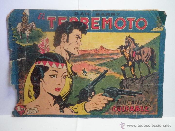 DAN BARRY EL TERREMOTO BUSCANDO AL CULPABLE (Tebeos y Comics - Maga - Dan Barry)