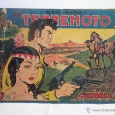 Tebeos: DAN BARRY EL TERREMOTO BUSCANDO AL CULPABLE. Lote 53462591