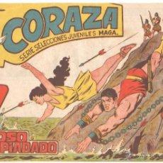 Tebeos: CORAZA ORIGINAL Nº 43 EDI. MAGA 1960. Lote 222127571