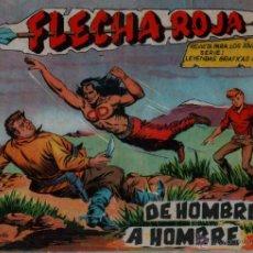 Tebeos: FLECHA ROJA ORIGINAL Nº 72 EDI. MAGA 1962 , MUY DIFICIL. Lote 54566843