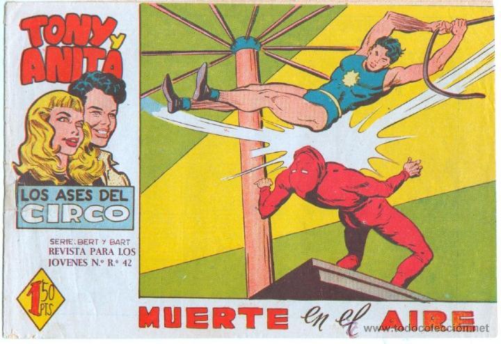 Tebeos: TONY Y ANITA 2ª SERIE ORIGINALES , 29 NºS EN MAGNÍFICO ESTADO, SIN ABRIR, VER TODAS IMAGENES - Foto 21 - 54567264