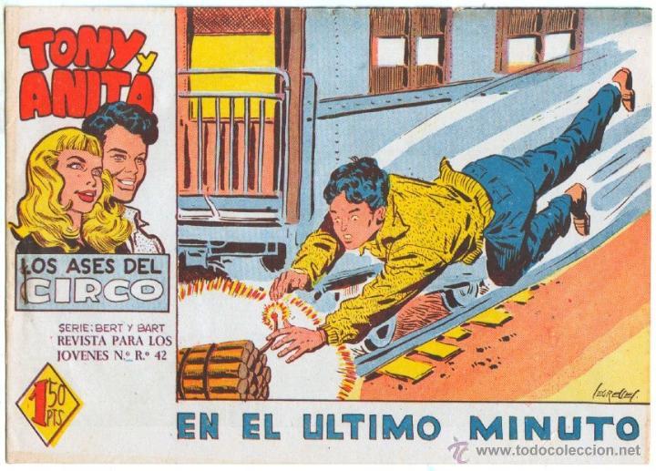 Tebeos: TONY Y ANITA 2ª SERIE ORIGINALES , 29 NºS EN MAGNÍFICO ESTADO, SIN ABRIR, VER TODAS IMAGENES - Foto 24 - 54567264