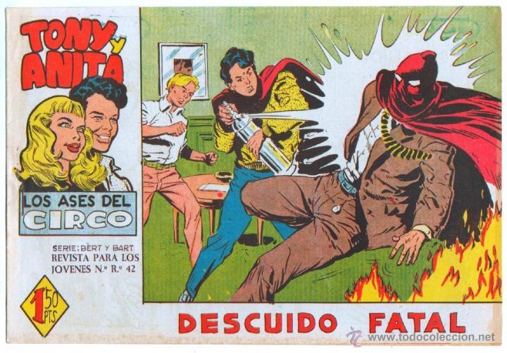 Tebeos: TONY Y ANITA 2ª SERIE ORIGINALES , 29 NºS EN MAGNÍFICO ESTADO, SIN ABRIR, VER TODAS IMAGENES - Foto 25 - 54567264
