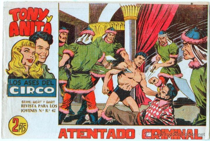Tebeos: TONY Y ANITA 2ª SERIE ORIGINALES , 29 NºS EN MAGNÍFICO ESTADO, SIN ABRIR, VER TODAS IMAGENES - Foto 29 - 54567264