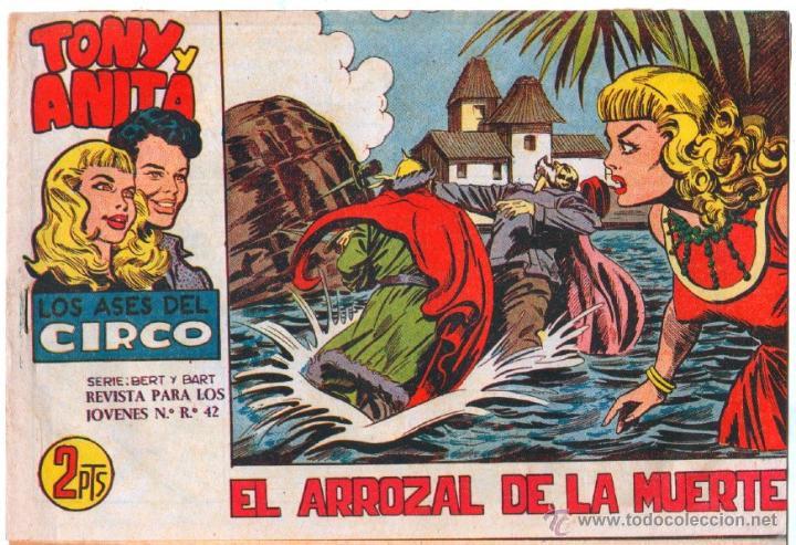 Tebeos: TONY Y ANITA 2ª SERIE ORIGINALES , 29 NºS EN MAGNÍFICO ESTADO, SIN ABRIR, VER TODAS IMAGENES - Foto 30 - 54567264