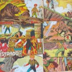 Tebeos: TERREMOTO - LA CUADRILLA ORIGINALES EDI. MAGA 1962, LOTE DE 13 TEBEOS, VER IMAGENES. Lote 54597233