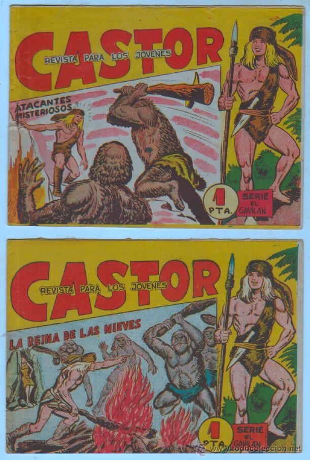 Tebeos: CASTOR ORIGINALES EDI. MAGA 1962 - LOTE NºS -10,20,21,32,33 - Foto 2 - 54597388