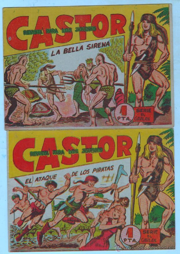Tebeos: CASTOR ORIGINALES EDI. MAGA 1962 - LOTE NºS -10,20,21,32,33 - Foto 3 - 54597388