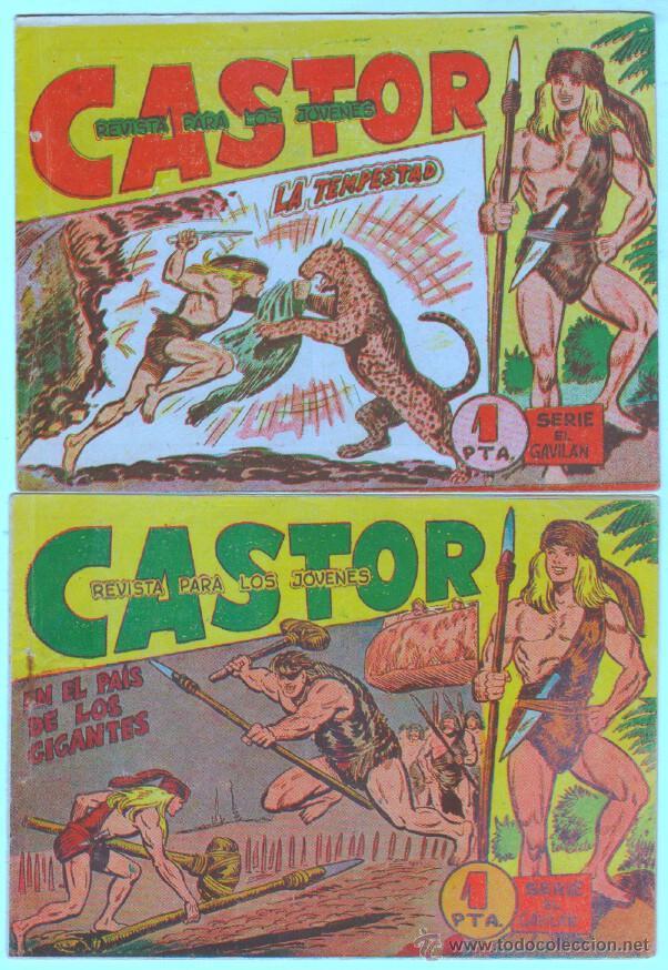 Tebeos: CASTOR ORIGINALES EDI. MAGA 1962 - LOTE NºS -10,20,21,32,33 - Foto 4 - 54597388
