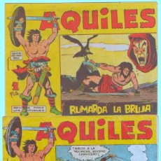 Tebeos: AQUILES ORIGINAL EDI. MAGA 1962 - LOTE NºS - 3,6,10,11,18,29. Lote 54597477