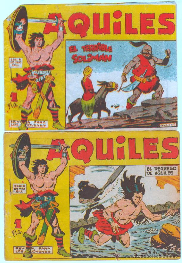 Tebeos: AQUILES ORIGINAL EDI. MAGA 1962 - LOTE NºS - 3,6,10,11,18,29 - Foto 3 - 54597477