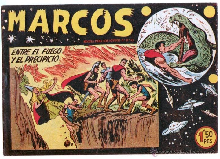 Tebeos: MARCOS ORIGINALES EDI. MAGA 1958 - LOTE 7 NºS - 4 Nºs SIN CIRCULAR NI ABRIR, RESTO MUY BIEN - Foto 3 - 54597760