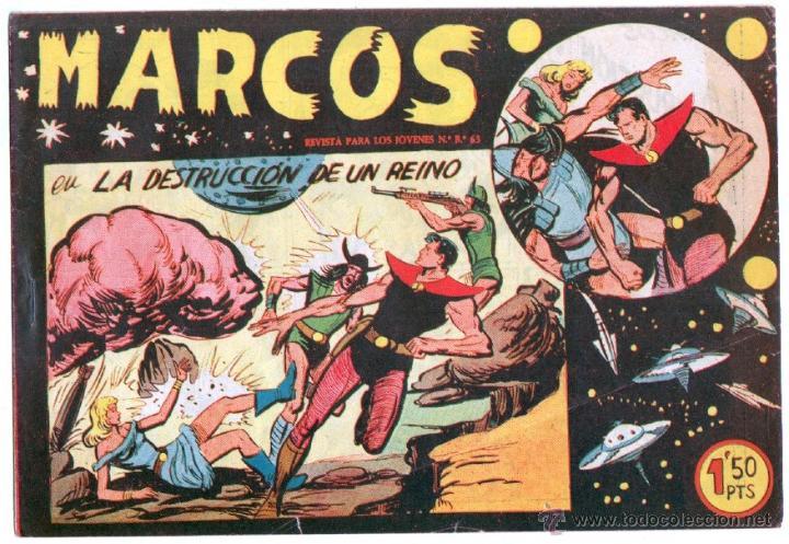 Tebeos: MARCOS ORIGINALES EDI. MAGA 1958 - LOTE 7 NºS - 4 Nºs SIN CIRCULAR NI ABRIR, RESTO MUY BIEN - Foto 4 - 54597760