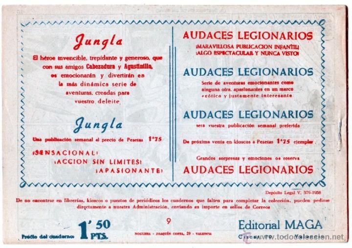 Tebeos: MARCOS ORIGINALES EDI. MAGA 1958 - LOTE 7 NºS - 4 Nºs SIN CIRCULAR NI ABRIR, RESTO MUY BIEN - Foto 5 - 54597760