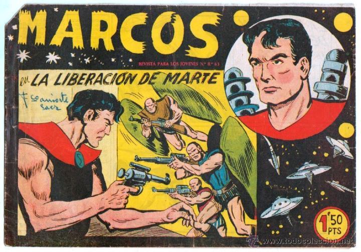 Tebeos: MARCOS ORIGINALES EDI. MAGA 1958 - LOTE 7 NºS - 4 Nºs SIN CIRCULAR NI ABRIR, RESTO MUY BIEN - Foto 7 - 54597760