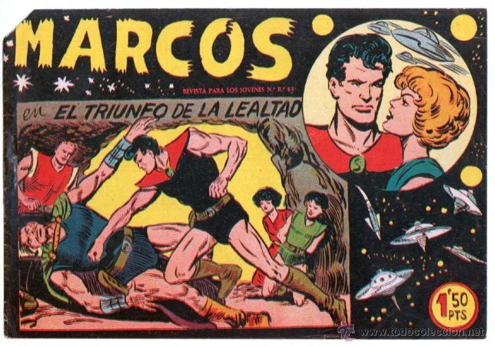 Tebeos: MARCOS ORIGINALES EDI. MAGA 1958 - LOTE 7 NºS - 4 Nºs SIN CIRCULAR NI ABRIR, RESTO MUY BIEN - Foto 8 - 54597760