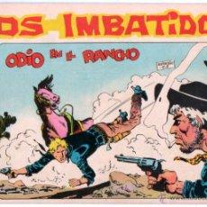 Tebeos: LOS IMBATIDOS ORIGINALES DE 5 PTS. EDI. MAGA 1963 - LOTE DE 13 TEBEOS, DIBUJO SEGRELLES. Lote 54597994