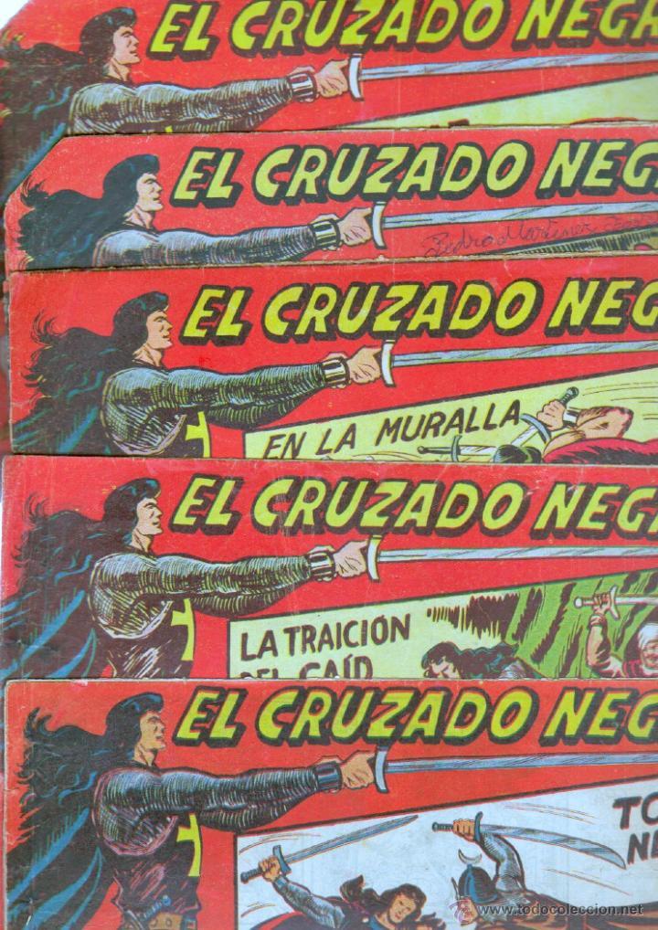Tebeos: EL CRUZADO NEGRO ORIGINAL LOTE DE 9 TEBEOS - EDI. MAGA 1961 por MANUEL GAGO, VER IMÁGENES DE TODOS - Foto 2 - 54608108